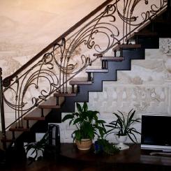 Кованая лестница с приглашением ККЛ_9