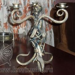 Кованый подсвечник КП_15