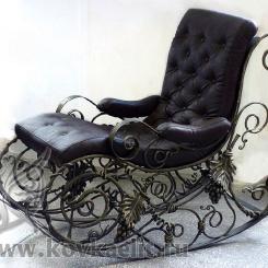 Кованое кресло качалка КК_10
