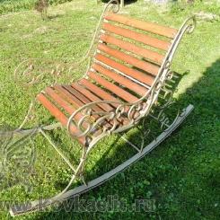 Кованое кресло качалка КК_14