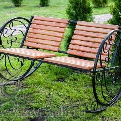 Кованое кресло качалка КК_17