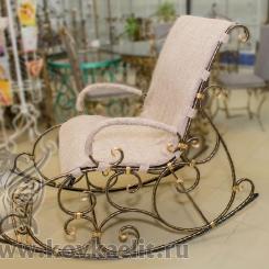 Кованое кресло качалка КК_9