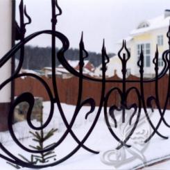 Кованый забор КЗ_3