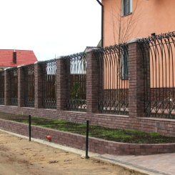 Кованый забор КЗ_43