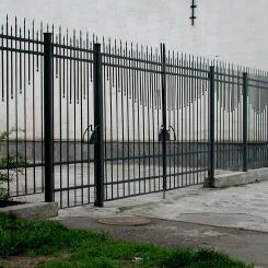 Кованый забор КЗ_45