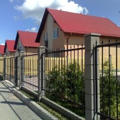 Кованый забор КЗ_46