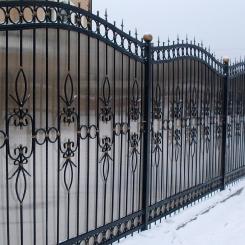 Кованый забор КЗ_47