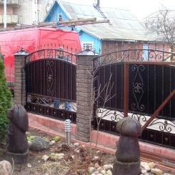 Кованый забор КЗ_51