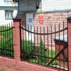 Кованый забор КЗ_52