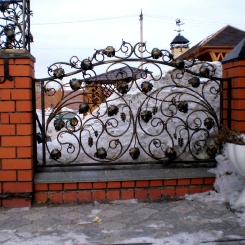 Кованый забор КЗ_79