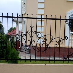Кованый забор КЗ_94