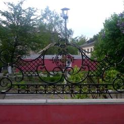 Кованый забор КЗ_97