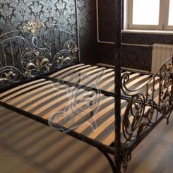 Кованая кровать металлическая КК_2