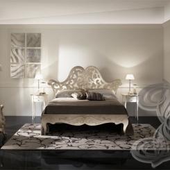 Кованая кровать прованс КК_16