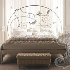 Кровать с кованым изголовьем КК_23
