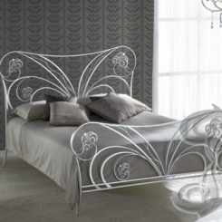 Кованая кровать двуспальная КК_25