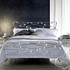 Кованая кровать модерн КК_34