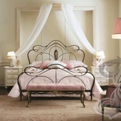 Кованая кровать КК_35