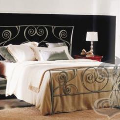 Кованая кровать КК_42