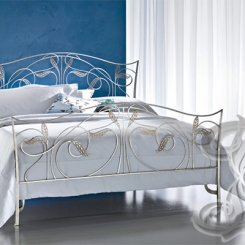 Кованая кровать КК_58