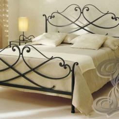 Кованая кровать КК_59
