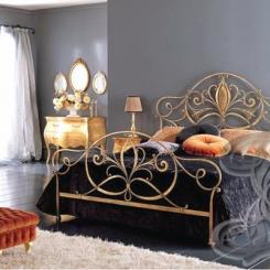 Кованая кровать КК_65