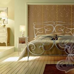 Кованая кровать итальянский дизайн КК_9
