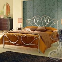 Кованая кровать двуспальная КК_10