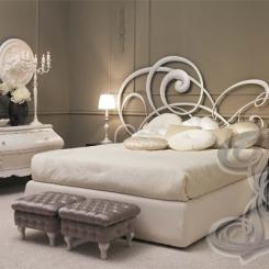 Кровать с кованой спинкой КК_12