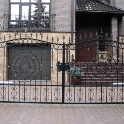 Кованые ворота КВ_13