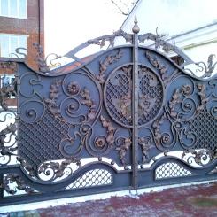 Кованые ворота КВ_27