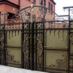 Кованые ворота КВ_29