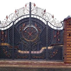 Кованые ворота КВ_34