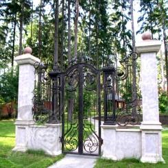 Кованые ворота КВ_7