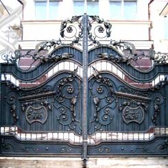 Кованые ворота КВ_5