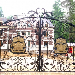 Кованые ворота КВ_4