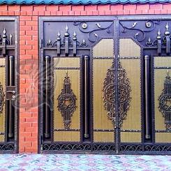 Кованые ворота КВ_10