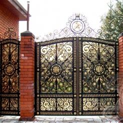 Кованые ворота КВ_17