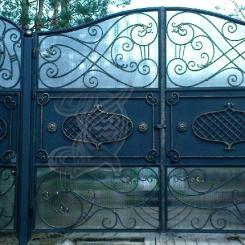 Кованые ворота КВ_8