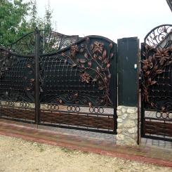 Кованые ворота КВ_19