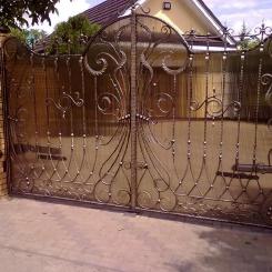 Кованые ворота КВ_47