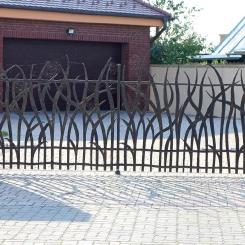 Кованые ворота КВ_52