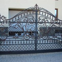 Кованые ворота КВ_53