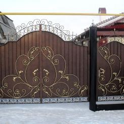 Кованые ворота КВ_56