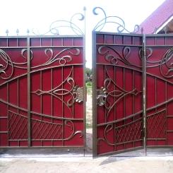 Кованые ворота КВ_57