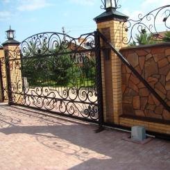 Кованые ворота КВ_62