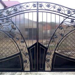 Кованые ворота КВ_65