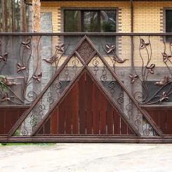 Кованые ворота КВ_69