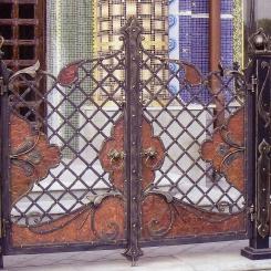 Кованые ворота КВ_70