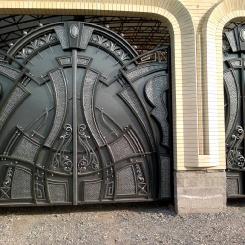 Кованые ворота КВ_74